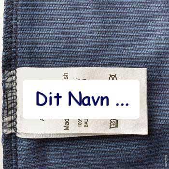 b6f2d4eea6d 48 Mærkater til tøj | Selvklæbende Tekstiletiketter | Strygefrie Navnemærker